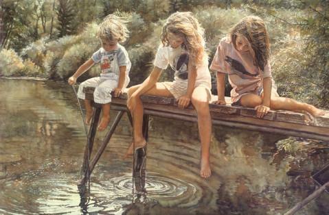 美国水彩画家斯蒂文·汉克斯 - 798DIY - 798 DIY