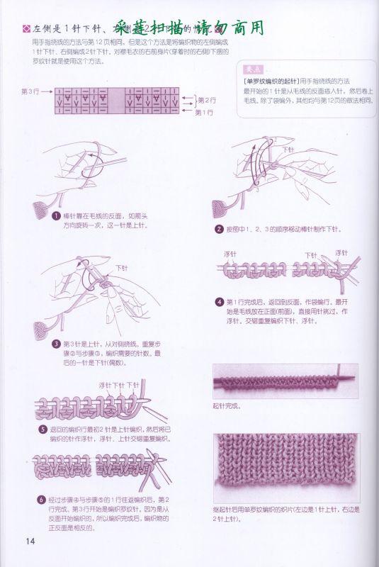 各种起针法-一本很好的书 - gouzhizhe - gouzhizhe的博客