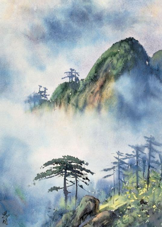 【转载】中国百年水彩选(二) - sdjnwzg - WZG的博客