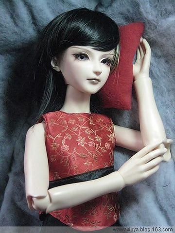 双满月照之中国红 - wawaxiuya - *鬼娃娃*修丫