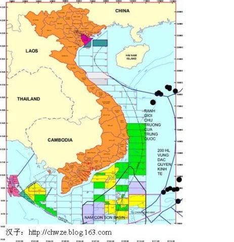 越南人搞的 5,越南的非法南海地图