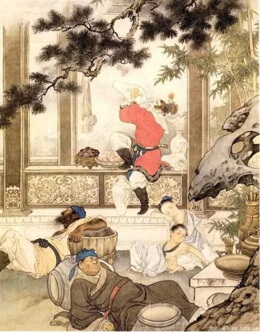 《大闹天宫》刘继卣 - 丁午 - 漫话西游