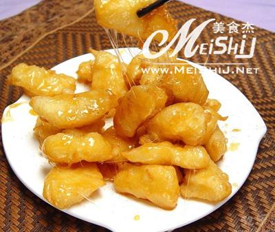 拔丝苹果-www.meishij.net