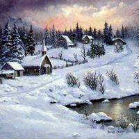 圣诞雪景 - 天民网友资料 - `