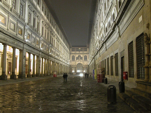 翡冷翠的一夜------佛罗伦萨灯光夜景分析 - 梦里秦淮 - 周宁(梦里秦淮)的博客