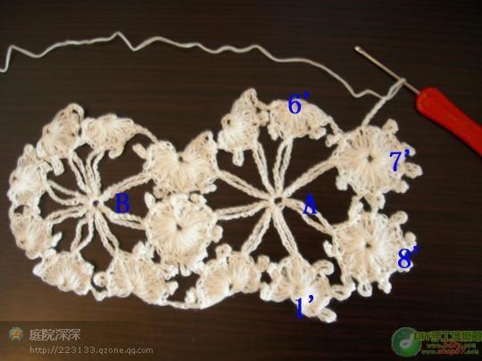 我的作品梅花衣附有图解 - 浮萍 - 浮萍的博客