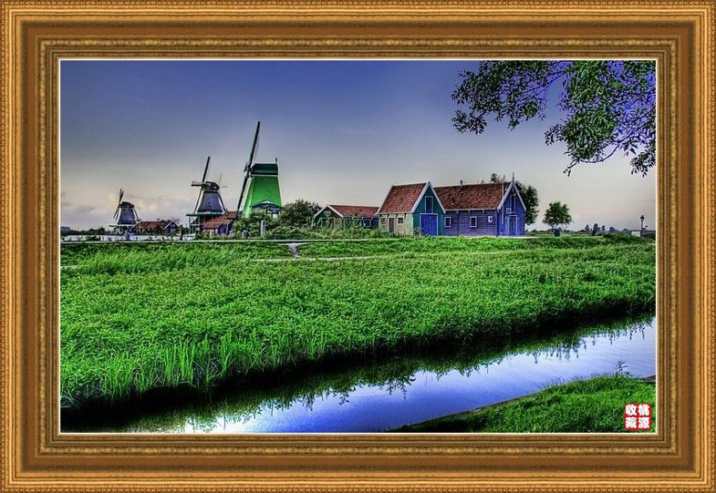 引用 手绘风景画欣赏(34P) - 绿韵 - 绿韵的博客