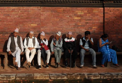 将帕坦留在黄昏中《重返尼泊尔之三》 - Y哥。尘缘 - 心的漂泊-Y哥37国行