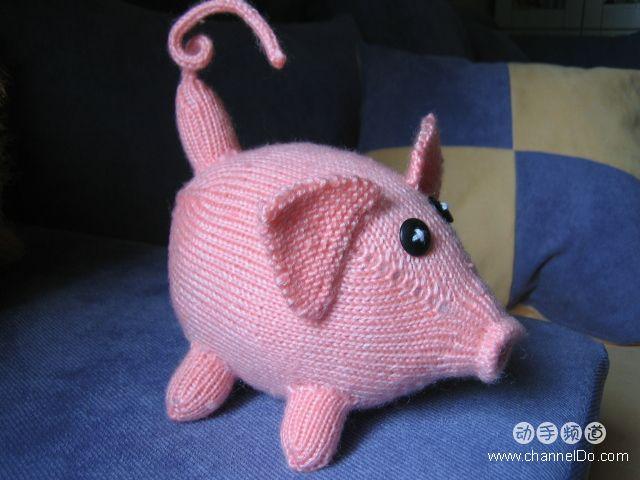 棒针玩偶------黄金猪 - 停留 - 停留编织博客