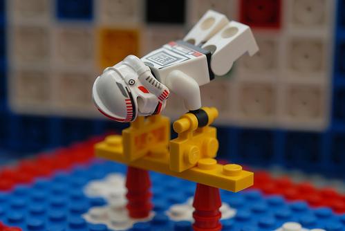 乐高奥运总动员 - 苗得雨 - 苗得雨:网事争锋