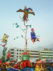 红河高台——陇南民间艺术的奇葩 - 红河游子 -              红河游子的博客