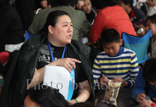 陪女儿参加北京市运动会游泳比赛的资格赛 - 懒蛇阿沙 - 懒蛇阿沙的博客