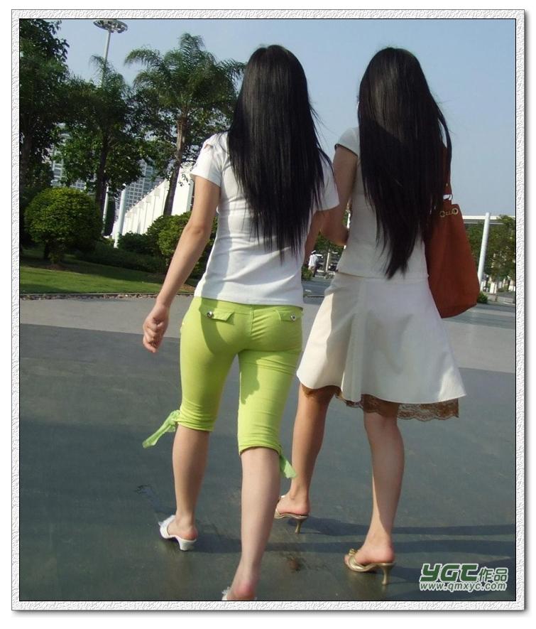 清新淡雅绿裤MM - 源源 - djun.007 的博客