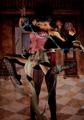 纽约时尚摄影舞动的色彩 - 五线空间 - 五线空间陶瓷家饰