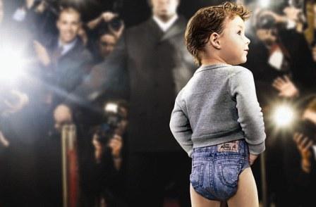 英国推出时尚牛仔裤造型纸尿裤(组图)