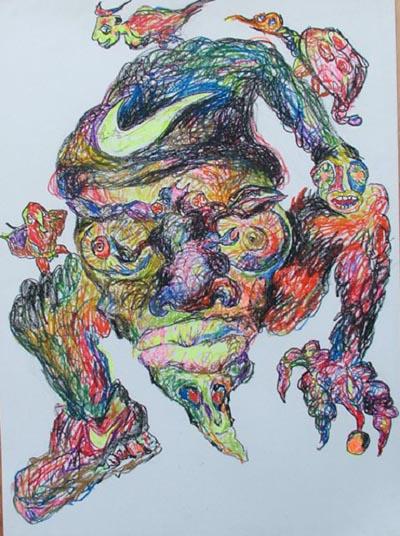 张羽2006年作品《拜物图腾》 - 张羽魔法书 - 张羽魔法书