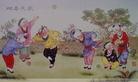 杨柳青年画 - angel.yzx - 惠风和畅