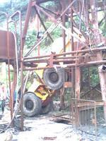 电动铲运机吊装下井【组图】 - 老徐 电动铲运机 - 老徐 电动铲运机