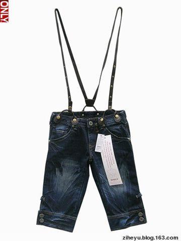 ONLY牛仔裤背带裤超短裙优惠出售中!!~~~ - ziheyu - OL时尚潮流公馆-轻熟女穿衣打扮分享