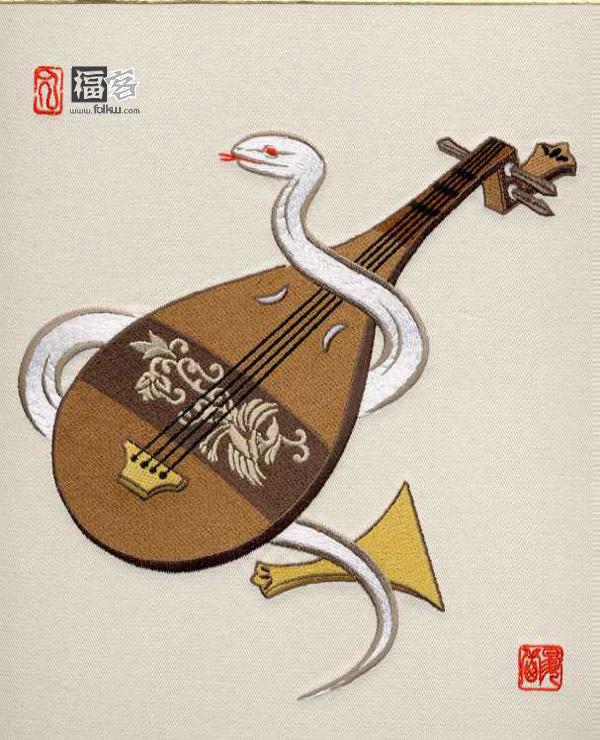 中国的十二生肖 (刺绣) - 温柔细雨 - 一丝小雨盈盈而落......