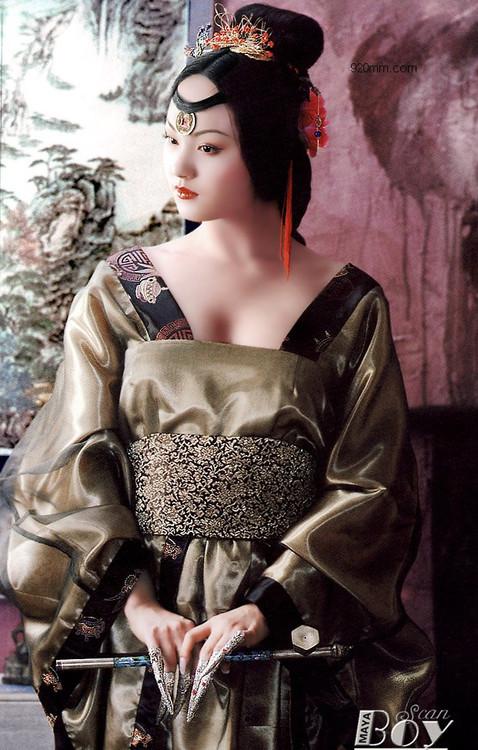 古典美女阿娜多姿 - 狂野奔放 - kuangyiebenfang的博客