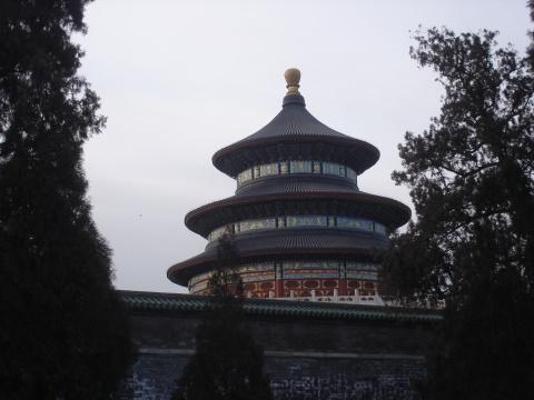 天坛公园美景---2008北京之行摄影作品(4) - 阳光月光 - 阳光月光