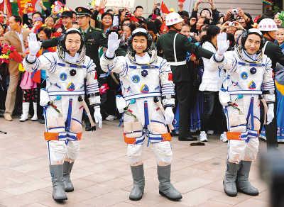赵亚辉:航天员飞天前后写下的字迹(图) - 赵亚辉 - 赵亚辉