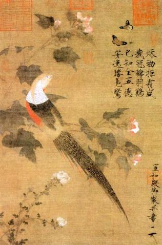 中国古代花鸟画