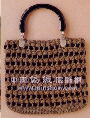 【引用】钩织漂亮包包---带图解