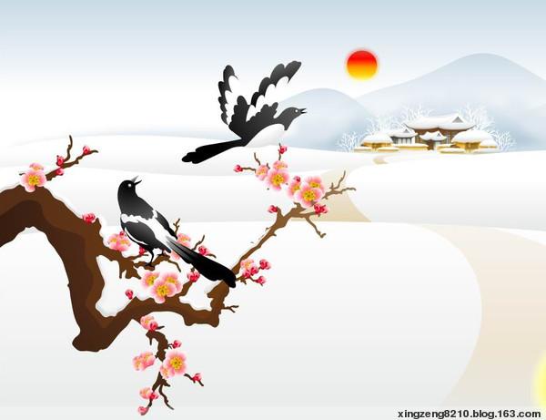【原创】七绝·和《客行遇微雪》 - 吾乐之 - 吾乐之