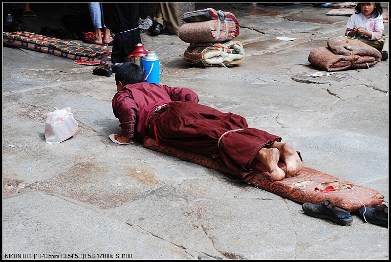 青藏高原之行_____拉萨人物 - 西樱 - 走马观景