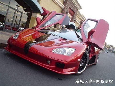 世界上最快的汽车 SSC Ultimate Aero超级跑车上市图片