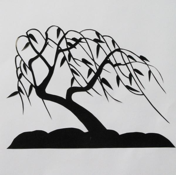 曾岚馨 作品 - 裁剪人生 - 刘进才 剪纸