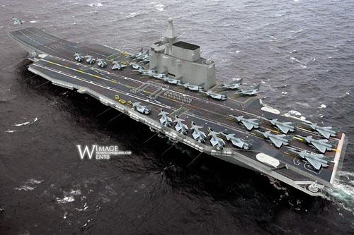 媒体推测中国航母明年下水 - 容全堂 - 容全堂