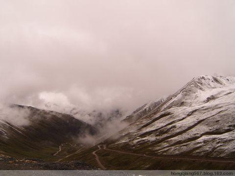 我的川藏行24—危险的雪山路有雨雪和冰雹 - 强哥问候 - 强哥问候