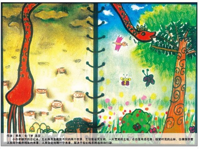 环保绘画大赛一等奖作品集锦图片