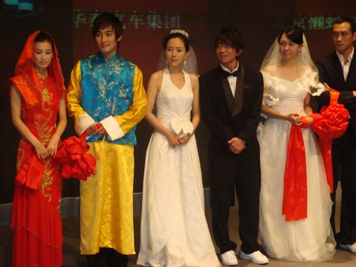 第一次穿婚纱参加新戏发布会 - rain.911 - 颜丹晨的博客