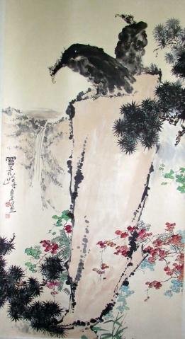 父亲与林风眠是对立派,儿子却…… - 画家昃伟 - zbzewei的个人主页