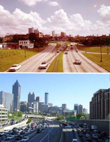 美国佐治亚州的亚特兰大——1964年和2004年