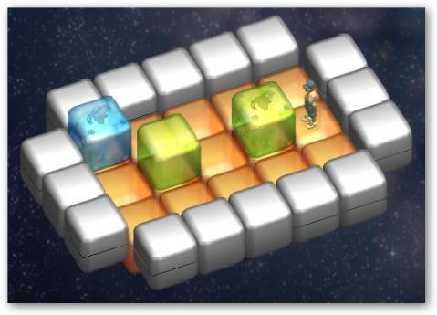 [小游戏]极限方块 - 李二嫂的猪 - 翱翔的板儿砖