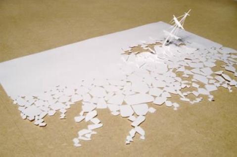 一张白纸的创意——丹麦艺术家皮特·卡尔森作品 - 比爱更爱 - 比爱更爱的博客(我的DIY)