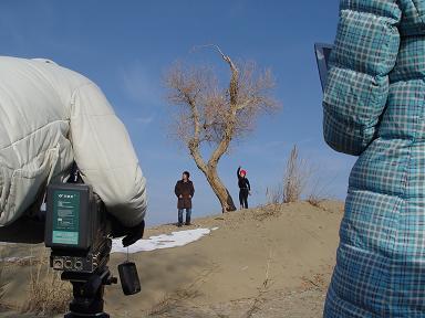 MV南疆拍摄中 - hongqi.163blog - 另一个空间