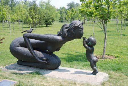 雕塑公园作品欣赏 -   * 古艺轩 * - .