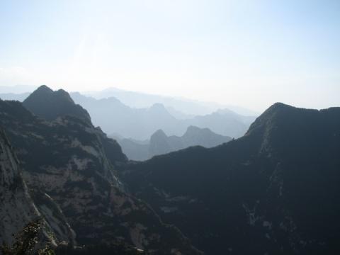 自助爬华山(图) - tiantaihe123 - 顺其自然的博客
