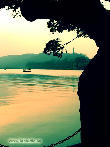 西湖啊西湖 - 一叶小舟 - 一叶小舟之舱