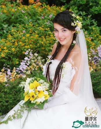 左慧琪婚纱图 - 水无痕 - 明星后花园