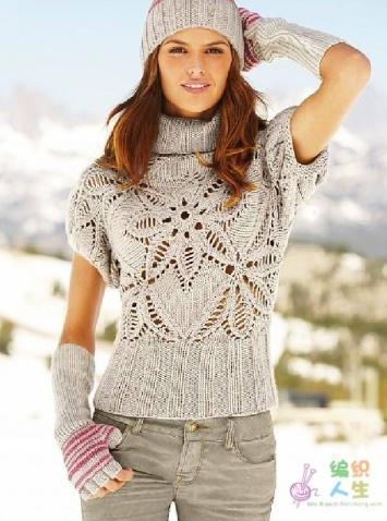谢谢小鱼!这件衣服的韩版比欧美版漂亮 - Daphne - 爱编织Crochet Knitting