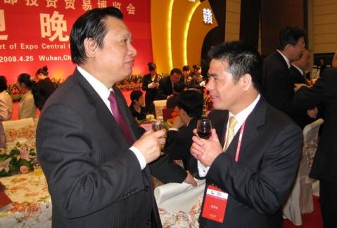 应邀出席东湖论坛2008年会并作主题演讲 - 远东蒋锡培 - 远东蒋锡培