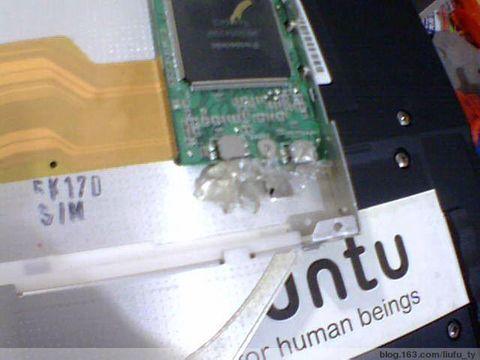 T43光驱弹出终极解决办法(原创)拆卸图 - liufu_ty - 阿福的工作室