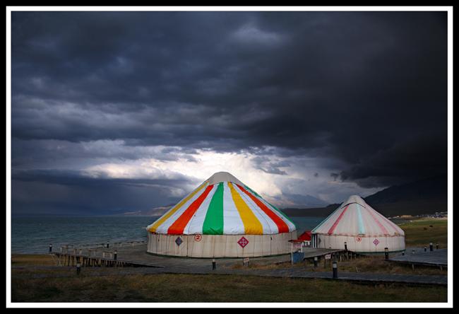 美丽的北疆(3)——赛里木湖 - 人走茶凉 - 人走茶凉的博客